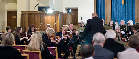 SPO concert in Christ Church, Leatherhead, 6 Dec 2014